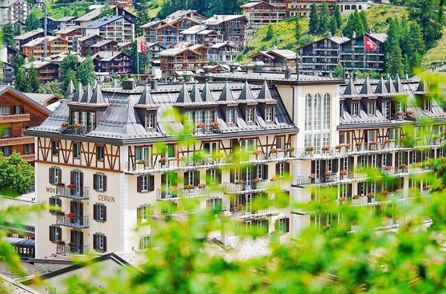 Mont Cervin Palace Reabriu No Dia 02 De Julho