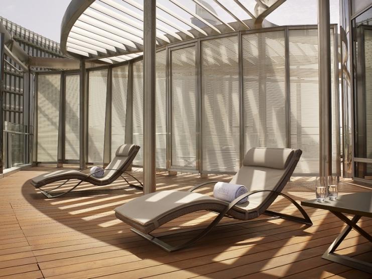 Armani Ambassador Suite - Balcony