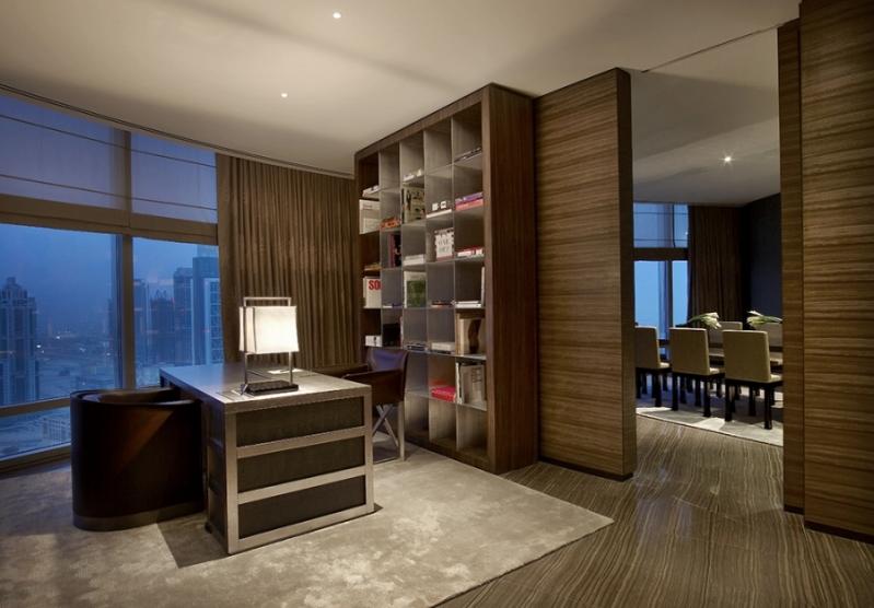 Armani Dubai Suite - Work Room