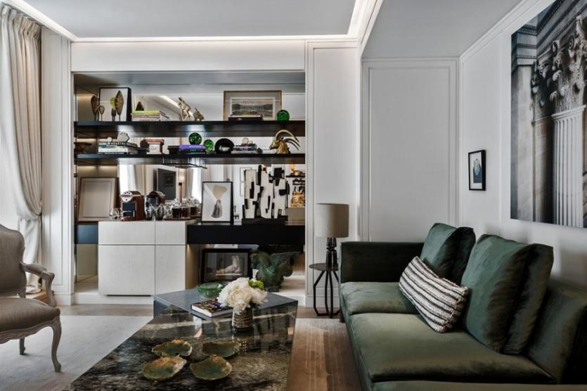 Suíte Jardin Living Room
