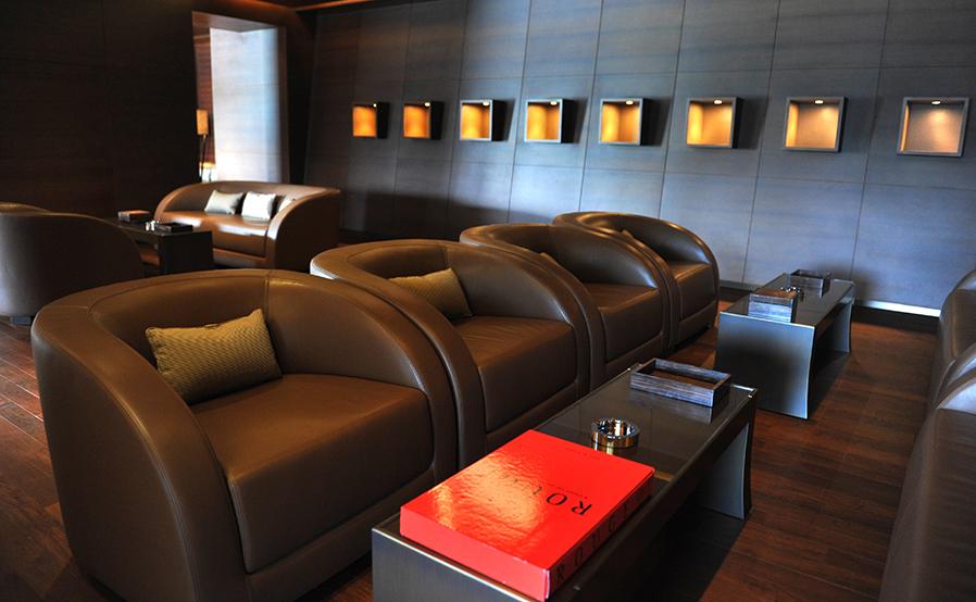Armani Cigar Room