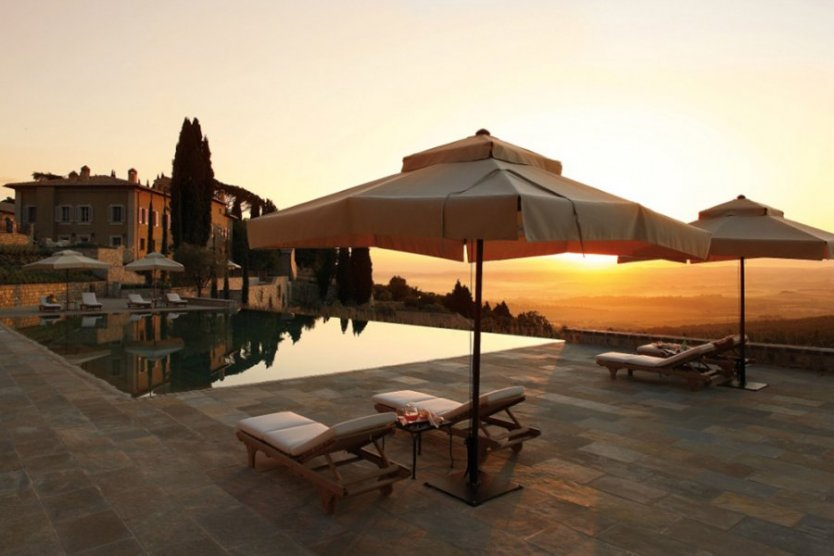 Borgo Pool Sunset