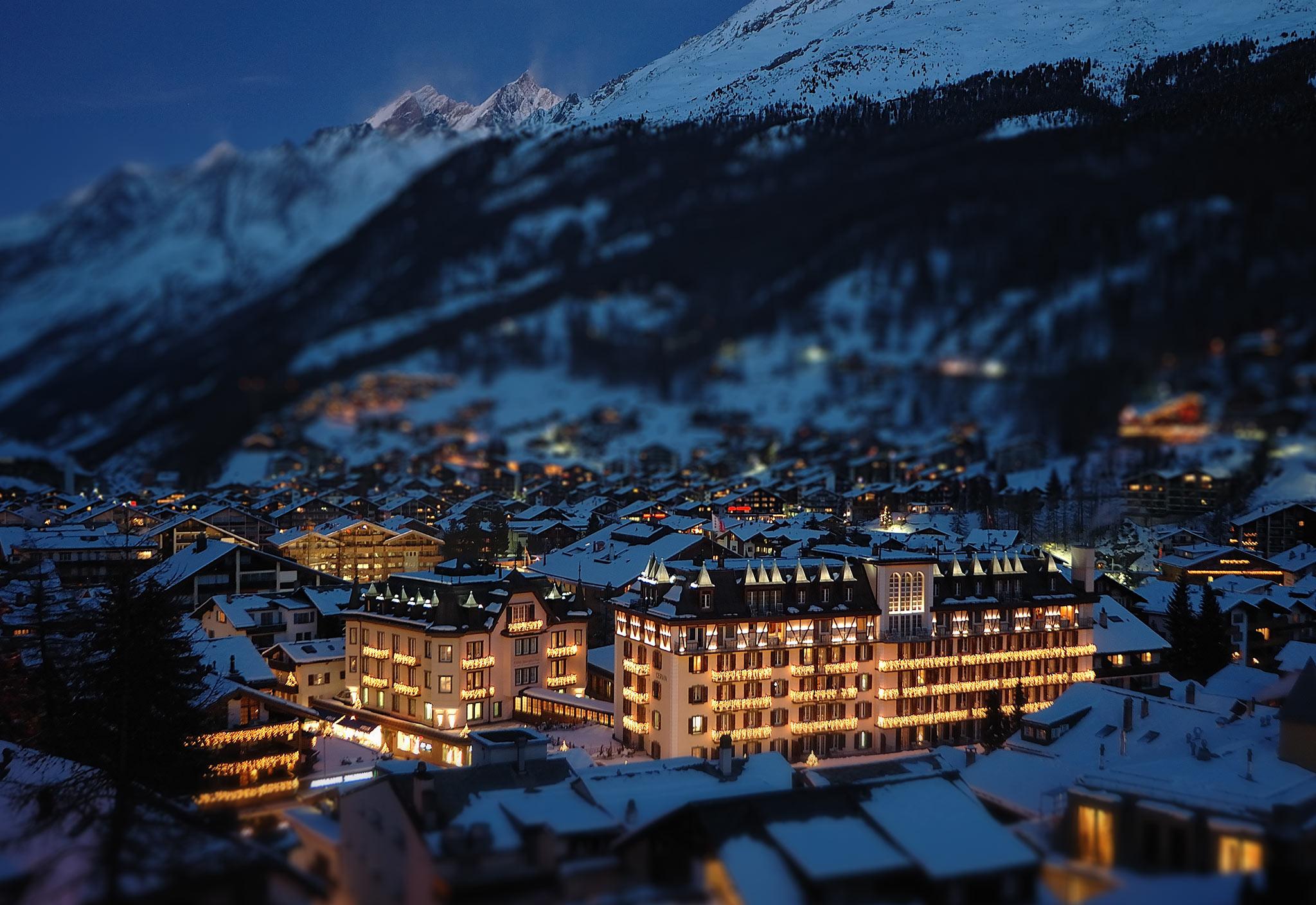 Mont Cervin Palace no coração da Zermatt